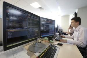 Трейдеры на Московской бирже
