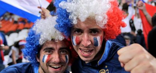 Французские болельщики