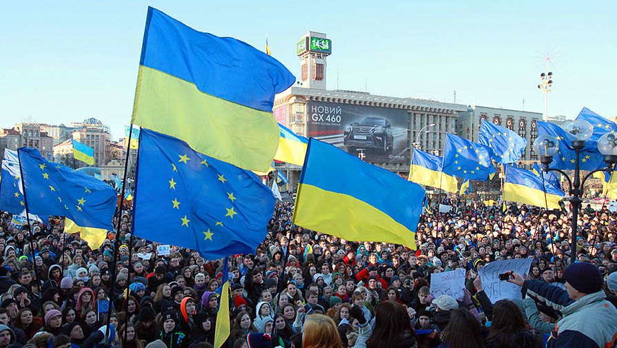 украинцы митинг
