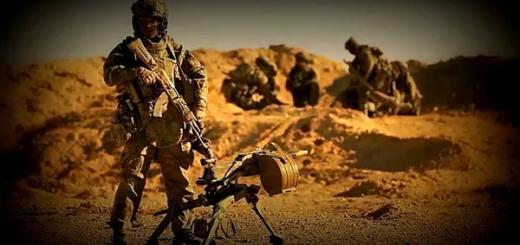 Российский спецназ в Сирии