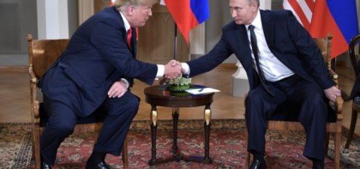 Встреча Трампа и Путина