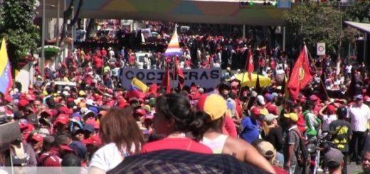 Митинг Венесуэла