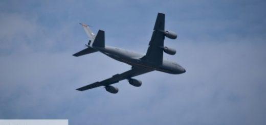 радиоразведчик ВВС США Boeing RC-135V