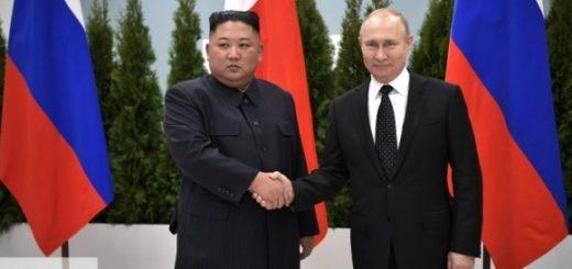 Первая встреча Путина и Ким Чен Ына длилась три с половиной часа