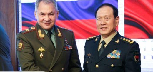Глава Минобороны Китая отметил высокий уровень отношений с Россией