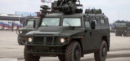 Модернизированный бронеавтомобиль «Тигр» представят на «Армия-2019»