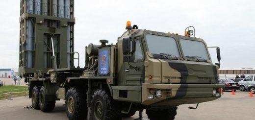 Новейший российский зенитный ракетный комплекс С-350 «Витязь»