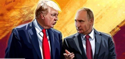 Телефонный разговор Трампа и Путина